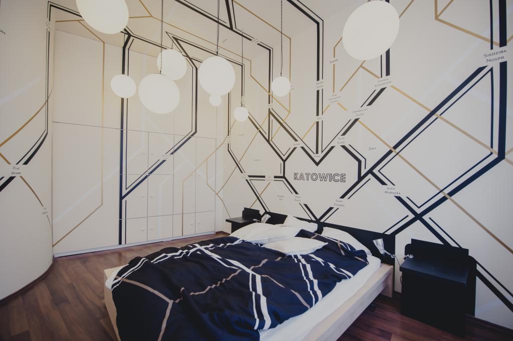Pokój autorstwa kolektywu Musk.