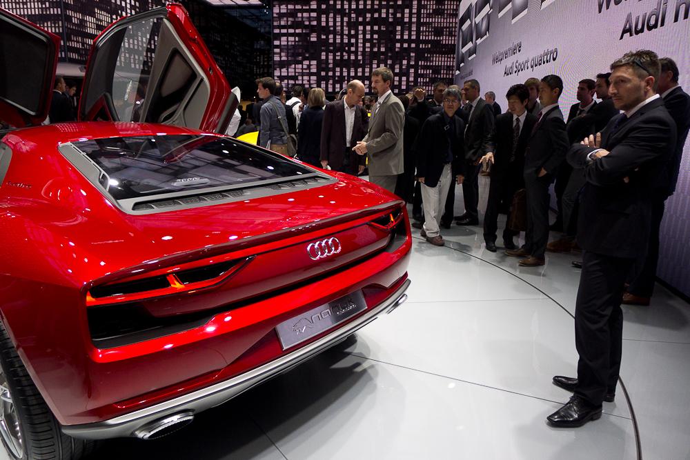 Nowe Audi Quattro Sport. fot. Wojciech Trzcionka
