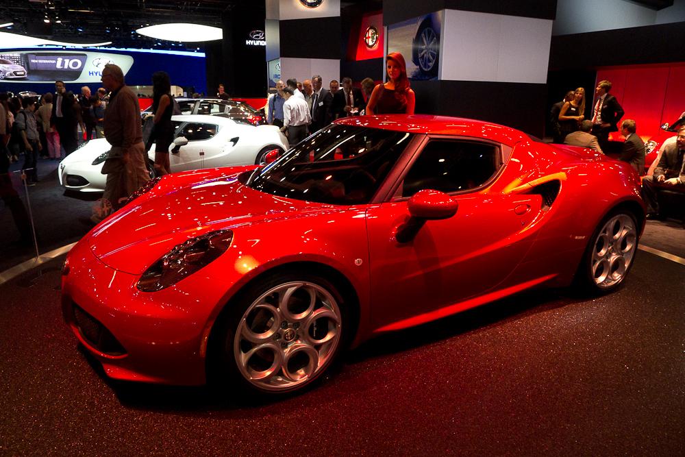 Nowa Alfa Romeo. fot. Wojciech Trzcionka