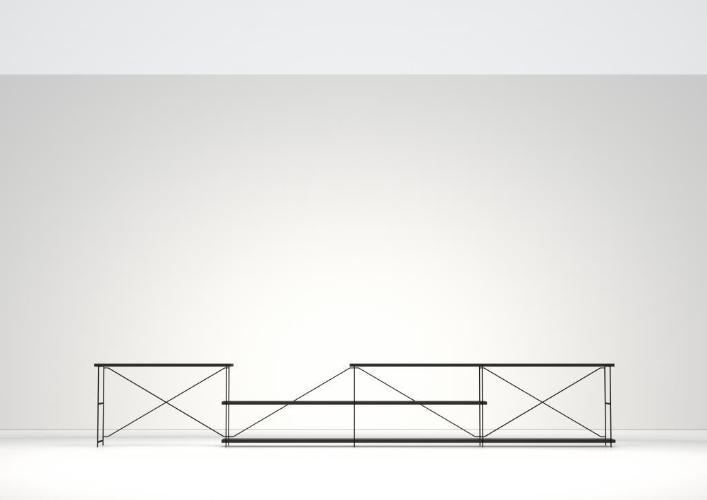 System R.I.G., który tworzą półki i stoliki. fot. Materiały prasowe