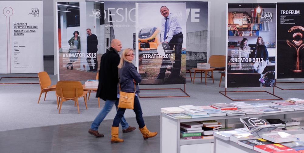 To już druga edycja wystawy prezentującej laureatów Design Alive Awards, przyznawanej za kreatywne myślenie. fot. Wojciech Trzcionka
