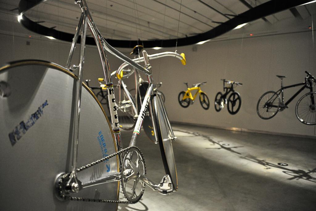 Ekspozycja rowerów w Muzeum Designu w Holon potrwa do 22 marca. fot. Wojciech Trzcionka