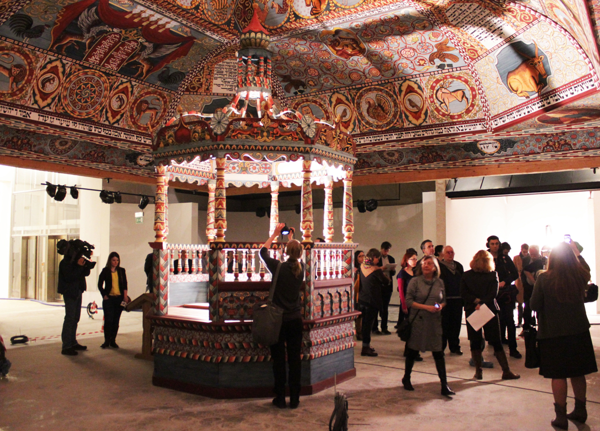 W galerii ''Miasteczko'' zakończone zostały prace nad zabudową przestrzeni domu, karczmy i kościoła.