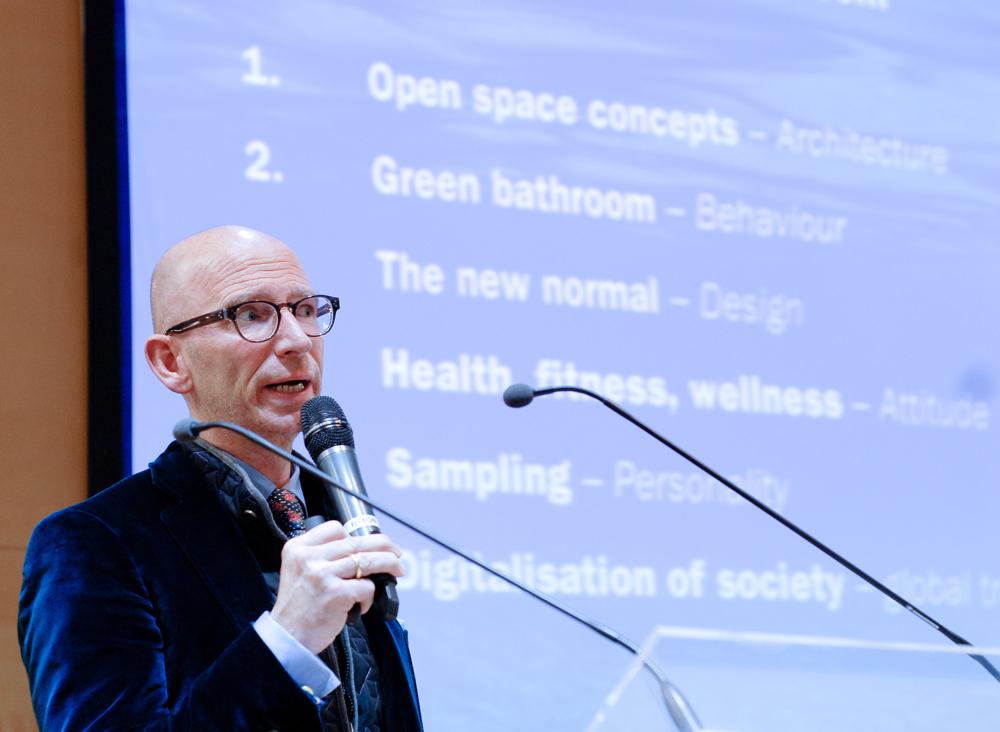 Wystąpienie niemieckiego projektanta w strefie Forum podczas Areny Design było kontynuacją współpracy firmy Dornbracht z