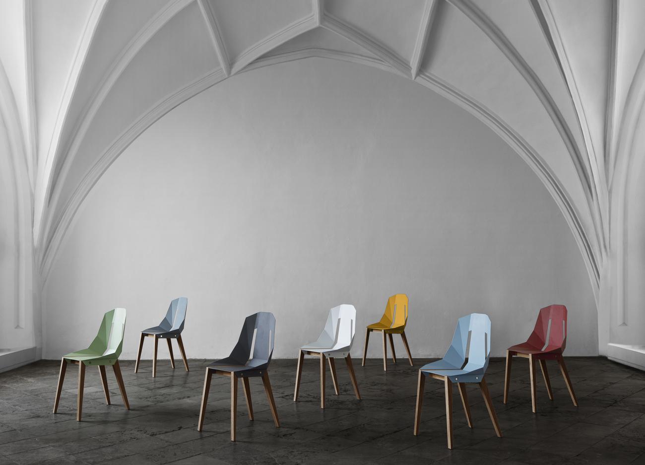 Krzesła Diago, projekt: Tabanda.
