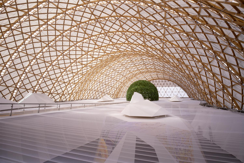 Japan Pavilion, Expo 2000 Hannover, 2000, Germany. fot. Hiroyuki Hirai