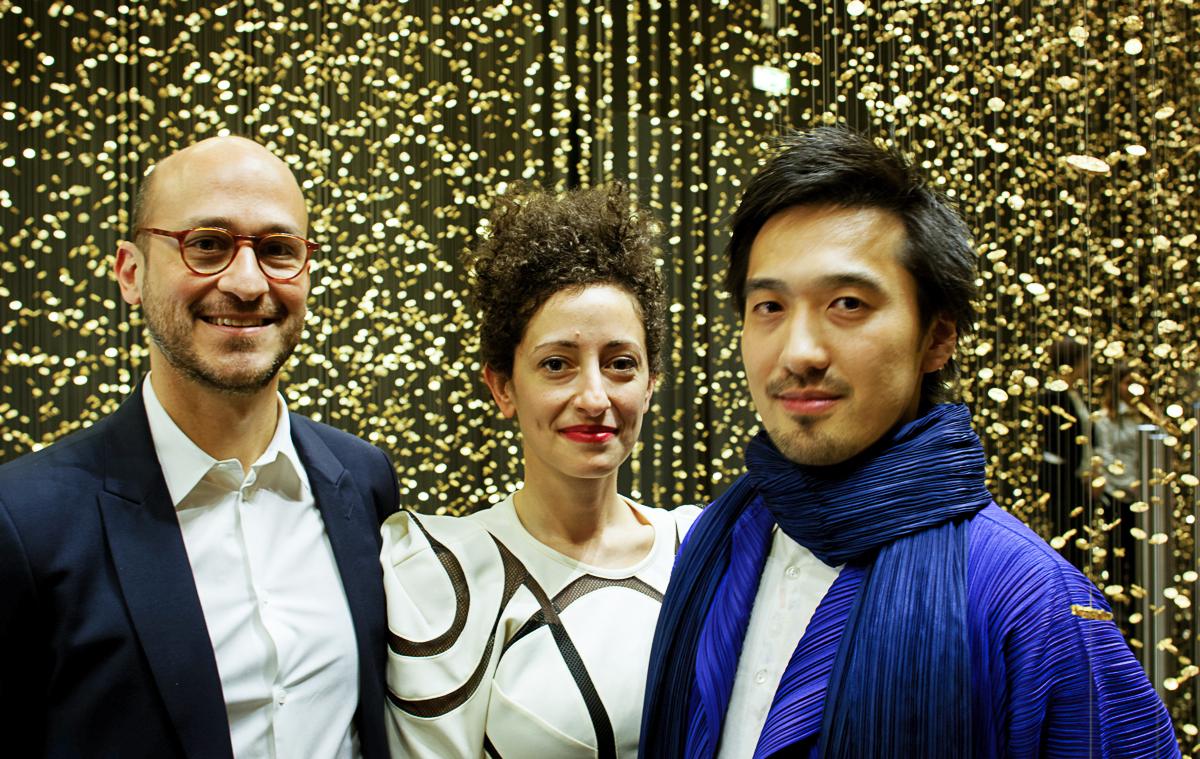 Za projekt wystawy odpowiadało studio DGT w składzie Dan Dorell, Lina Ghotmeh and Tsuyoshi Tane.