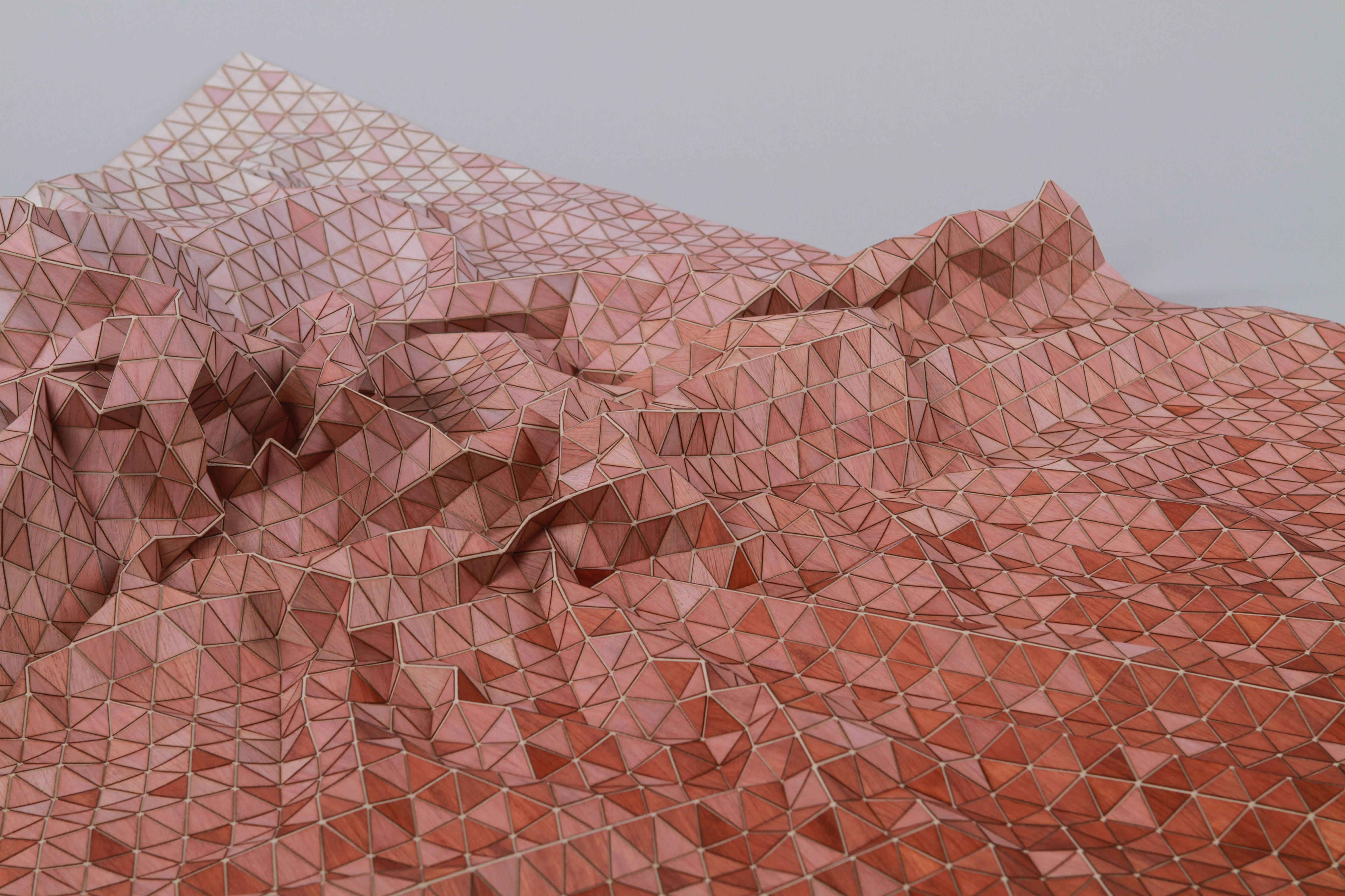 Ekskluzywne drewniane tkaniny