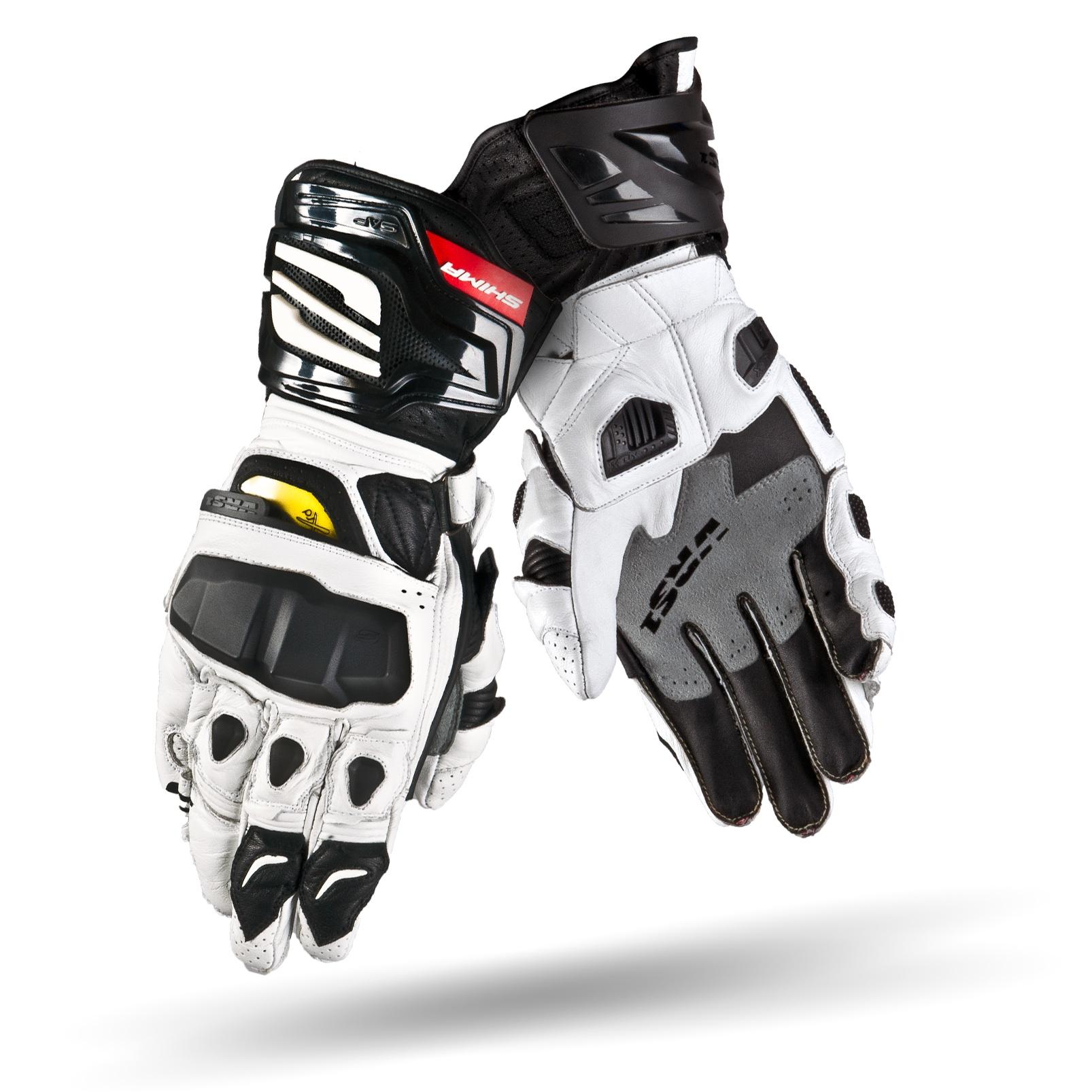 Rękawice motocyklowe VRS, prod. Shima.