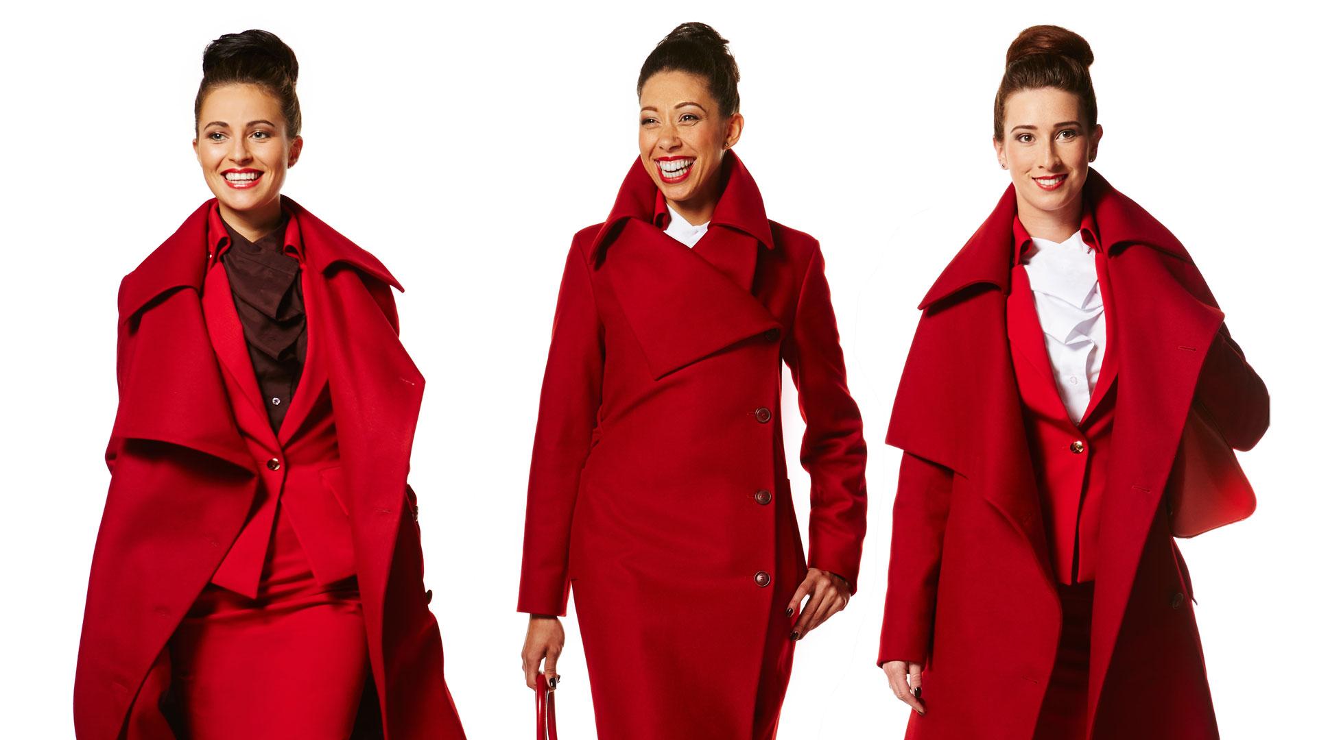 Virgin Atlantic ubiera się u Westwood