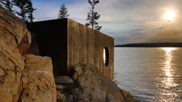 Sauna stworzona, by zaspokoić zmysły  [zdjęcia, wideo]