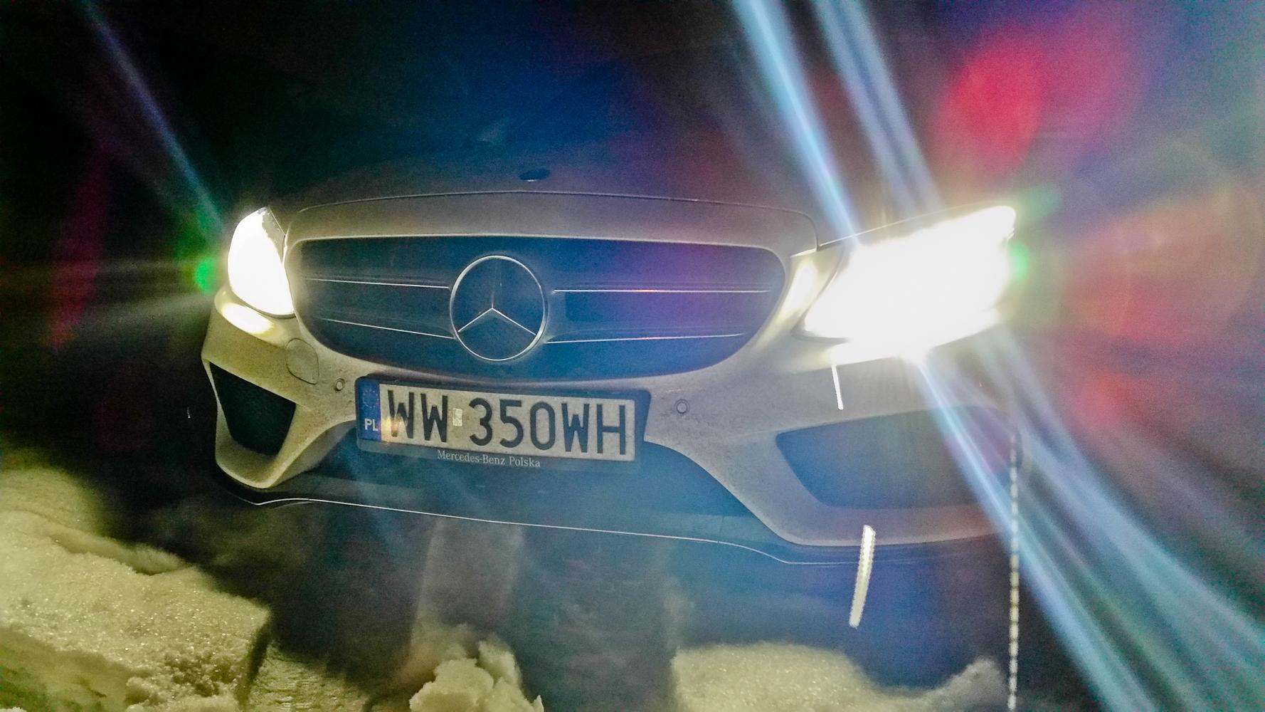 Mercedes C200. Spokojny wariat