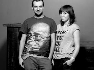 Maciek Lebiedowicz i Justyna Burzyńska