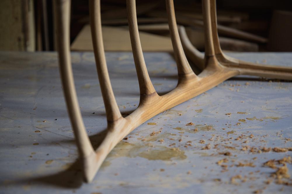 Krzesło prof. Homy po pół wieku doczekało się produkcji [zdjęcia]