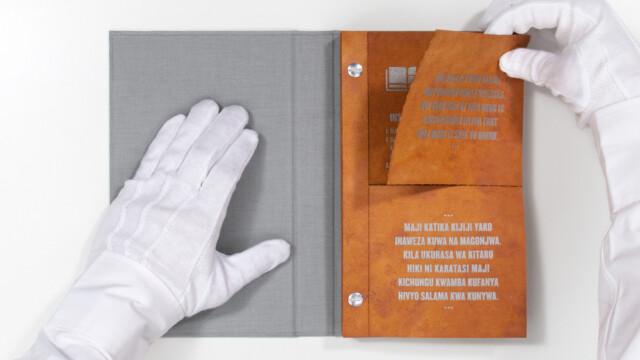 Książka do dezynfekcji wody