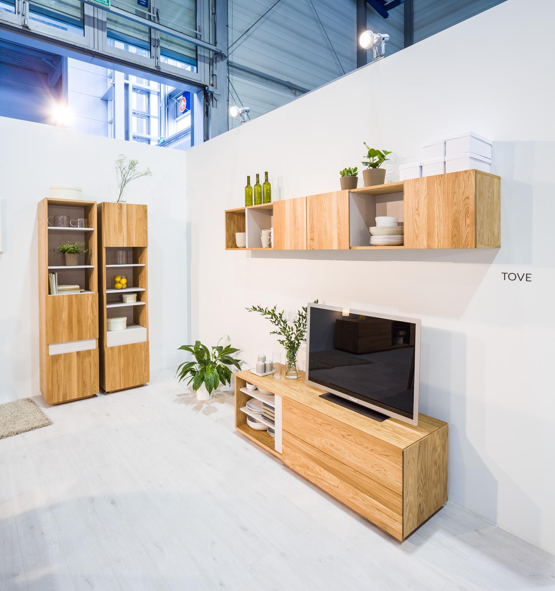 Paged prezentuje nowe systemy mebli mieszkaniowych