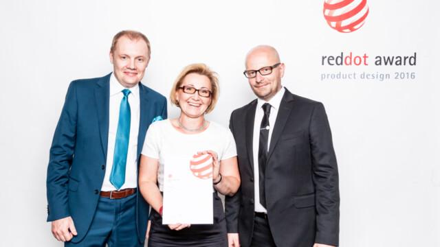 Red Dot Design Award 2016 dla Ceramiki Paradyż. Bezkompromisowo dążyć do celu