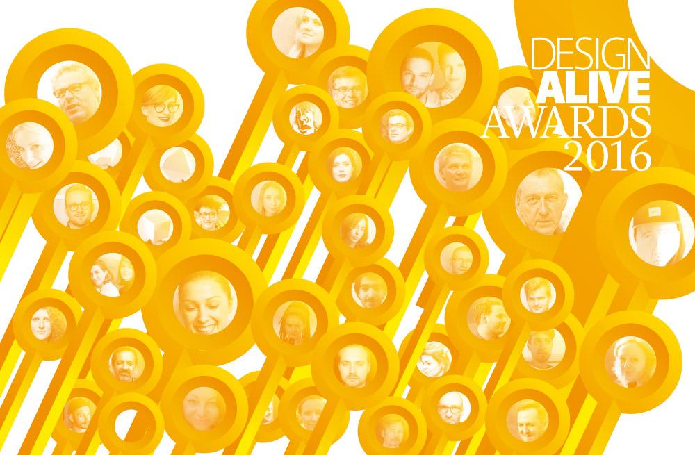 Design Alive Awards 2016. Poznajcie trzydziestkę nominowanych! I głosujcie