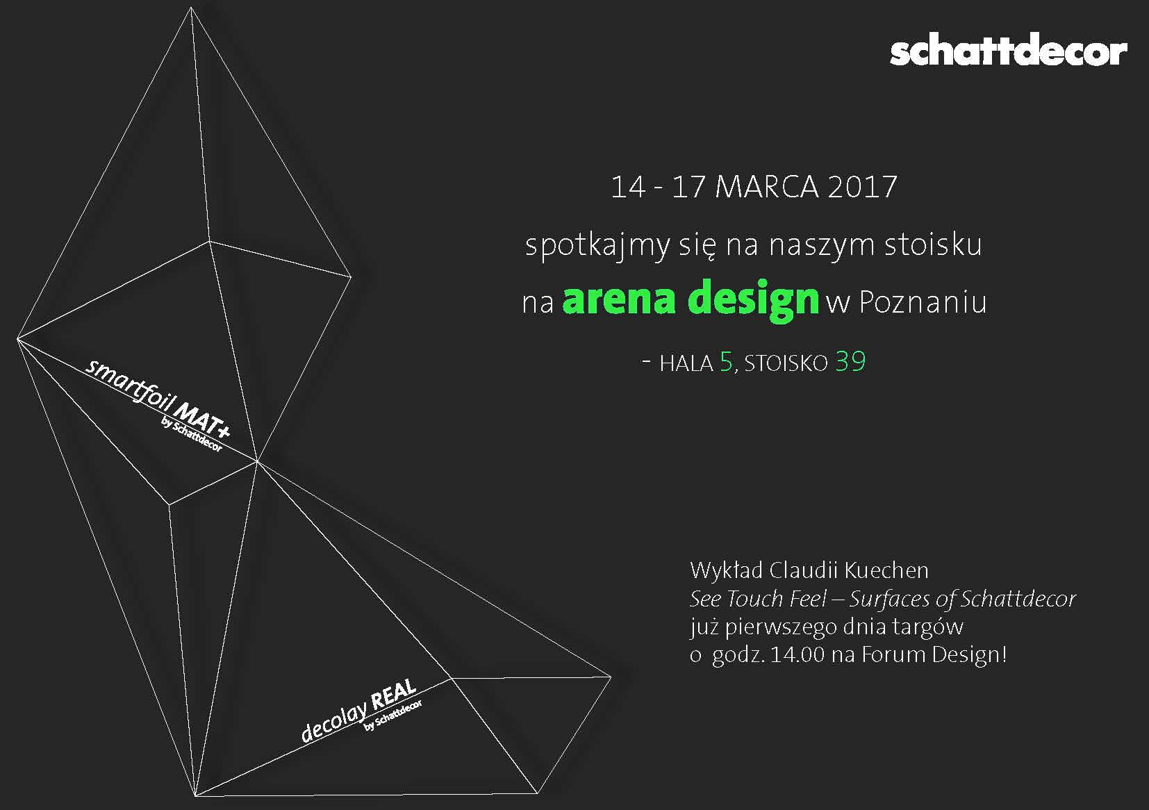 arena design-zaproszenie