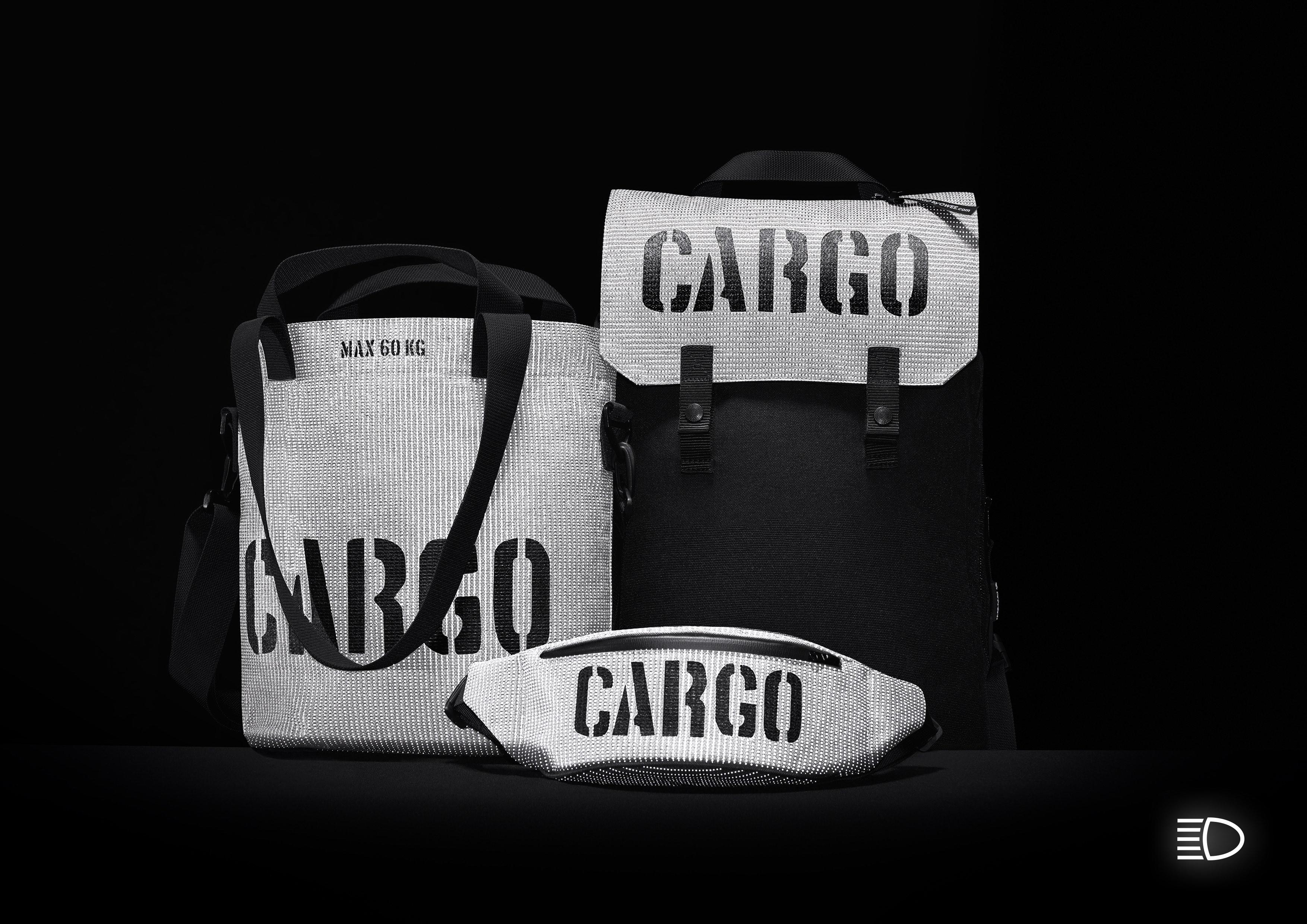 Kolekcja toreb i plecaków Cargo Reflective, Migfactory Anna Migacz Lesinska.