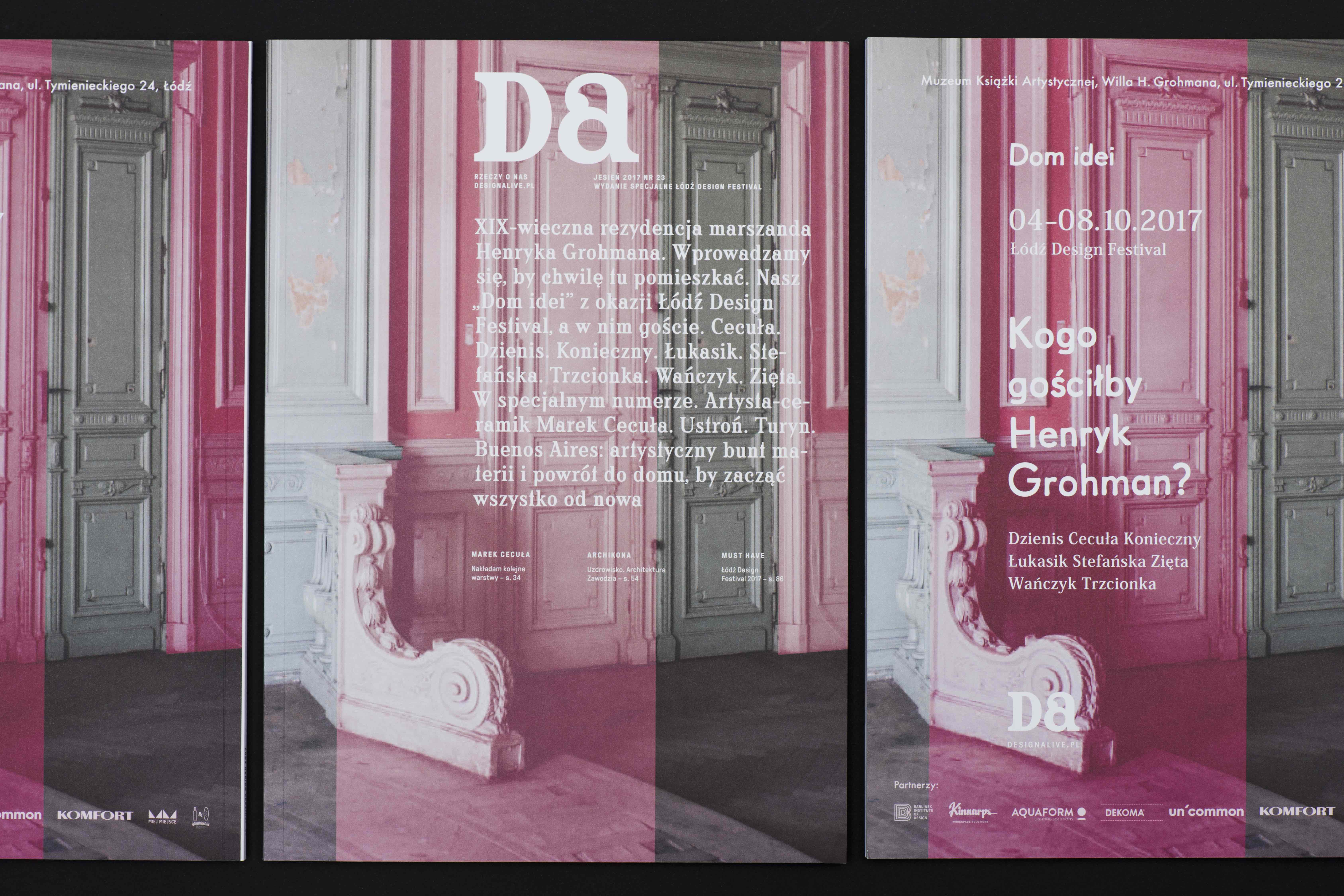 """""""Design Alive"""" już po raz szósty wypuszcza z okazji ŁDF specjalne wydanie magazynu"""