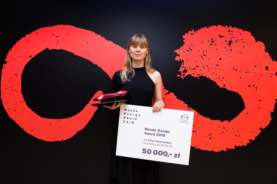 Alicja Patanowska laureatką Mazda Design Award 2018!