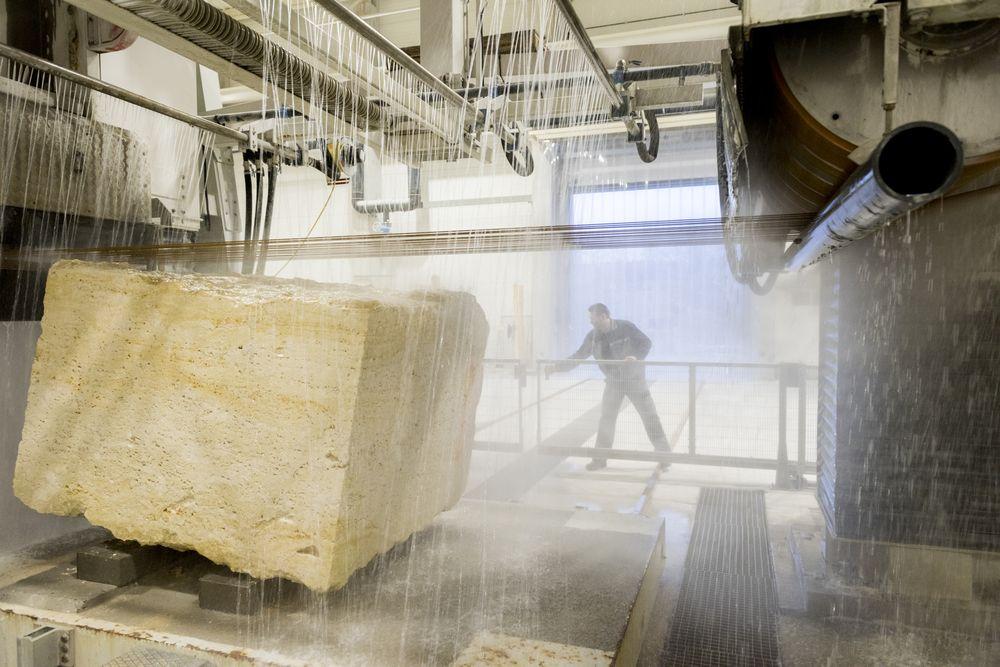 Projekt Przemo Łukasika zostanie zrealizowany wspólnie z firmą WKG specjalizującą się w obróbce kamienia dekoracyjnego. fot materiały prasowe