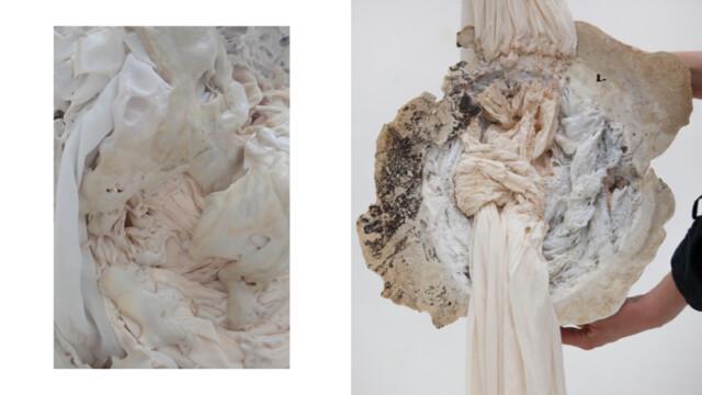 Zaprojektowane przez Polkę obiekty z przetopionych tekstyliów zachwyciły Londyn