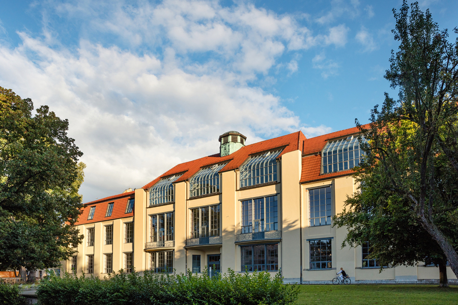 Uniwersytet Bauhausu w Weimarze. fot. Alexander Burzik weimar GmbH