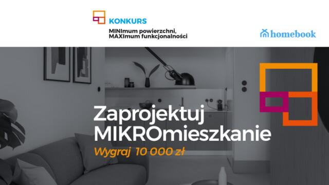 Konkurs dla projektantów: MINImum powierzchni, MAXImum funkcjonalności