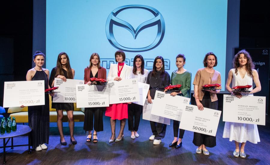 Po raz pierwszy w 10-letniej historii konkursu Mazda Design zmagania we wszystkich kategoriach zdominowały kobiety.