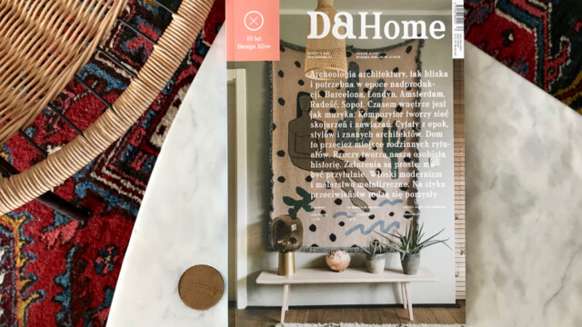"""Oto najnowszy magazyn """"DA Home"""" – trzecie wydanie specjalne """"Design Alive"""" poświęcone wnętrzom"""
