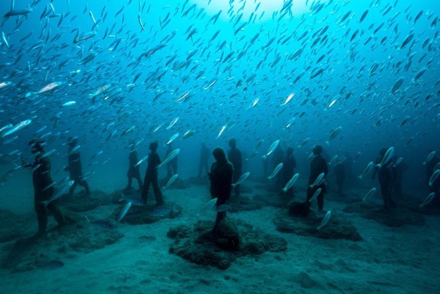 Podwodne Muzeum Atlantico