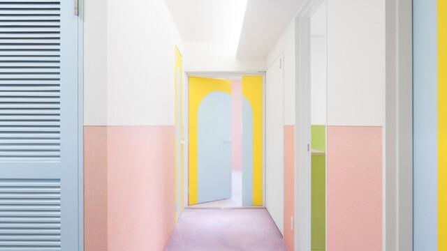 Gdy nie chcesz żyć w zwyczajnym mieszkaniu… Apartament jak paczka owocowych landrynek