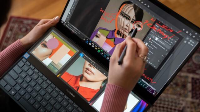 Nowy ASUS ZenBook ma wszystko, by spełnić wymagania niezależnych projektantów