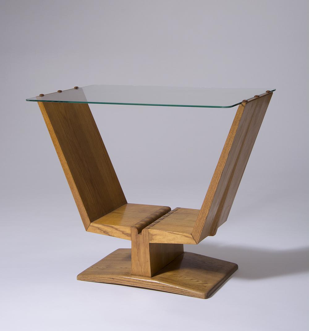 2. Wincze, stolik, 1949, fot. Stanislaw Sielicki