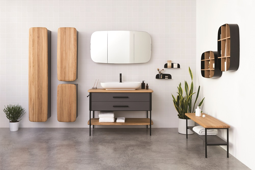 Kolekcja mebli łazienkowych Oval autorstwa Grynasz Studio została niedawno wyróżniona prestiżową nagrodą Red Dot 2020. Projekt doceniono za styl, funkcjonalność, wysoką jakość wykonania oraz różnorodne możliwości aranżacji.
