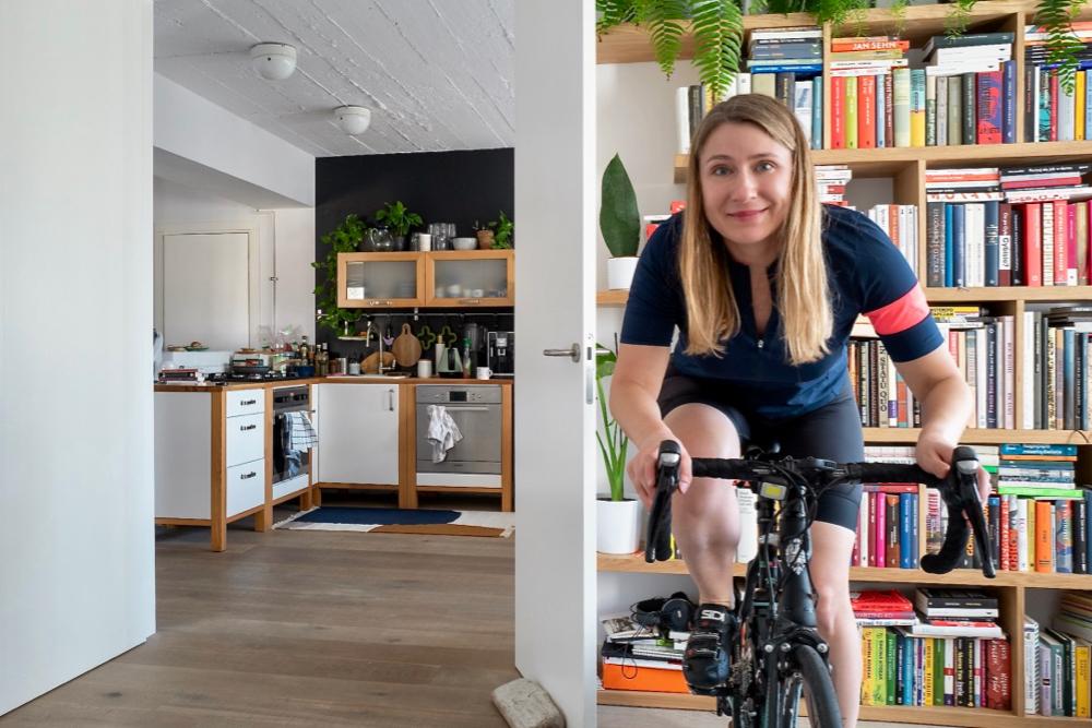 Magdalena Borowiec, dyrektor marketingu Profim, jest miłośniczką kolarstwa. Obecnie pedałuje głównie w mieszkaniu.