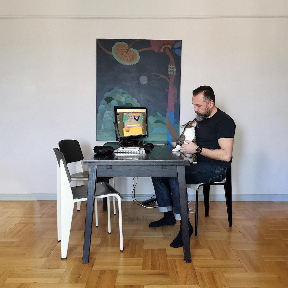 Przemysław Pachut, Numalab° design collective, Gdynia.