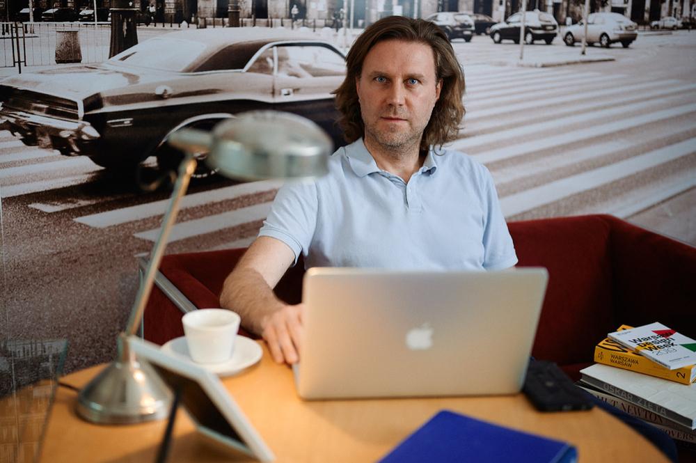 Michał Mrożewski, managing director Profundo. Zdjęcie: Wojtek Biały