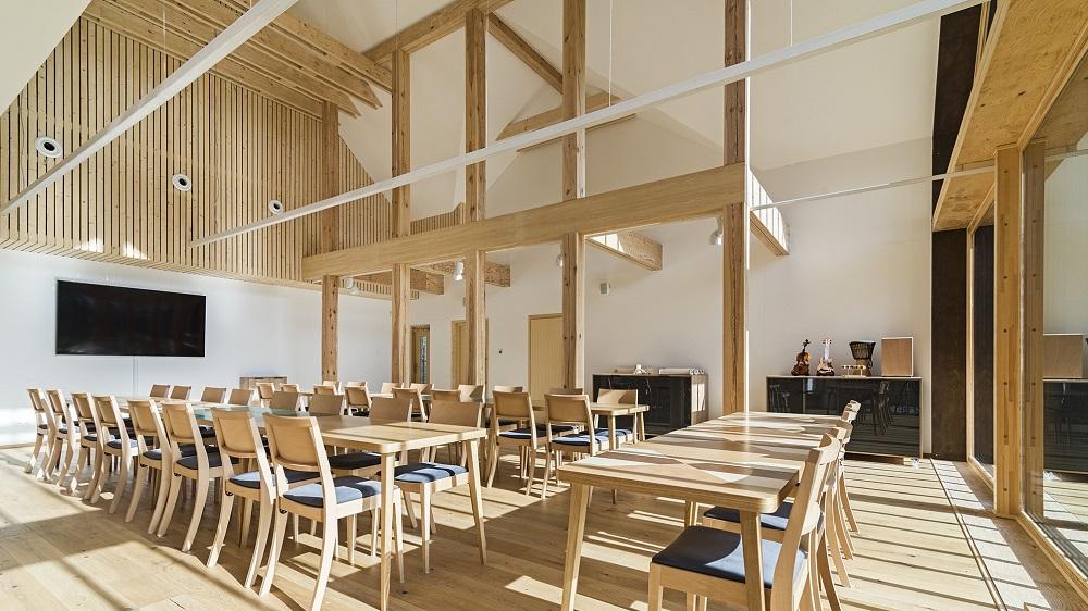 Świątynia drewna. Centrum Promocji Drewna od MMA Pracownia Architektury