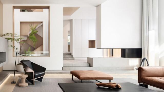 Światło w centrum uwagi w projekcie Liang Architecture