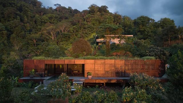Raj pośrodku dżungli. Zachwycający projekt czeskiego studia na Kostaryce