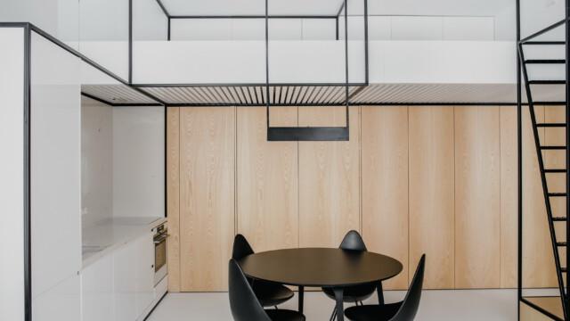 Minimalizm w praktyce: Apartament pod Wawelem