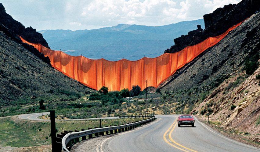 Valley Curtain, Rifle, Colorado 1972