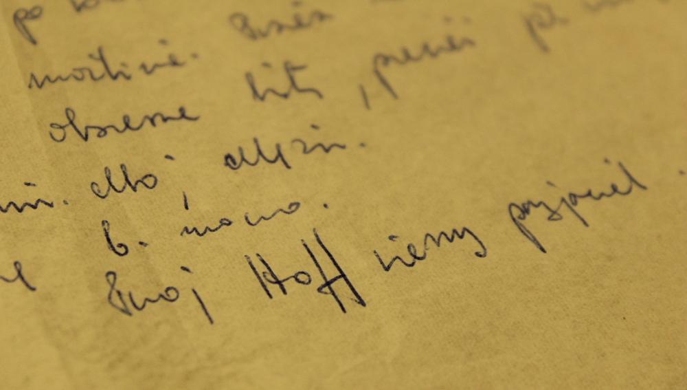 36. list Barbary Hoff do Leopolda Tyrmanda, 1966. Zdjęcie: archiwa Hooverazard Horowitz