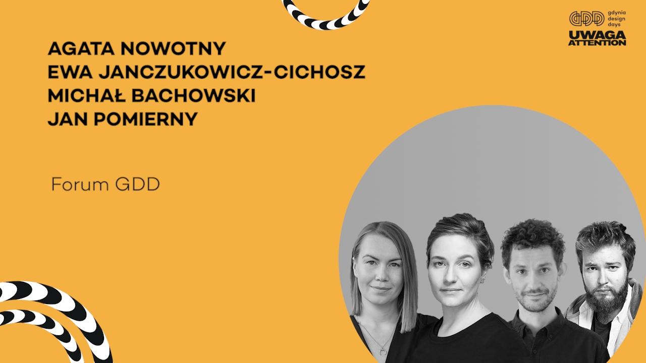 Wyjątkowa edycja Gdynia Design Days teraz dostępna dla każdego. Prelegenci już w sieci!