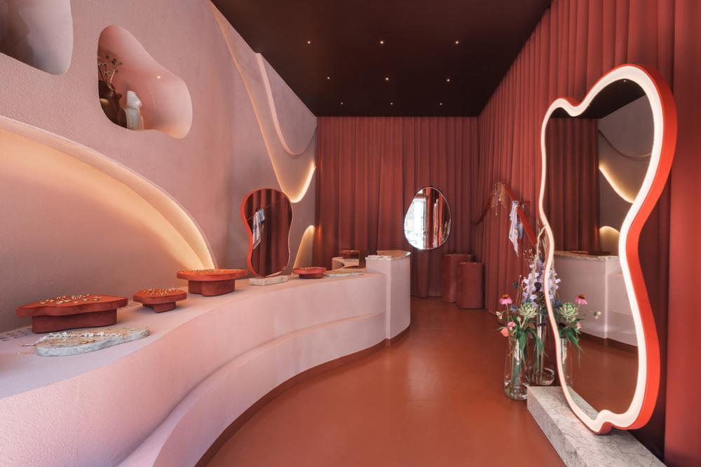 jewlery boutique interior design