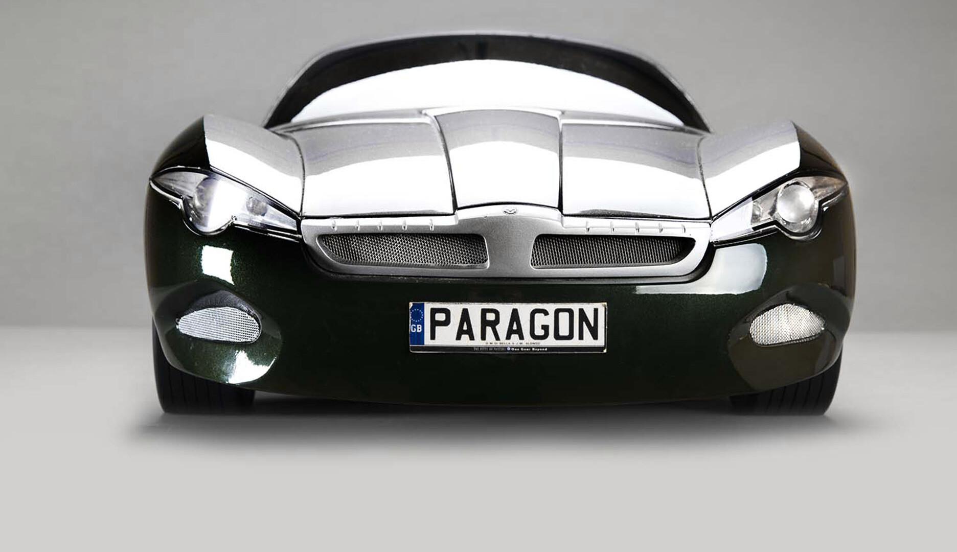 Model samochodu Paragon, fot. L. Żurek
