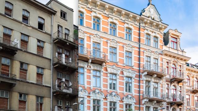 Niesamowita przemiana kamienic w Warszawie. Metr kosztuje tu 25-40 tys. zł